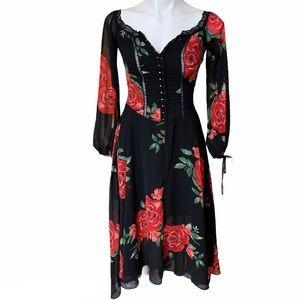 Disney Princess Floral Dress